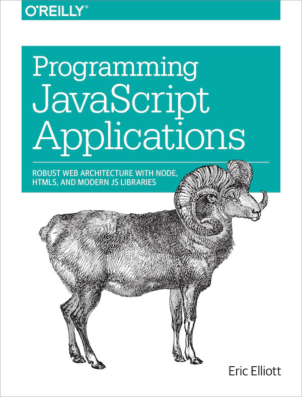 Programming JavaScript Applications ebook